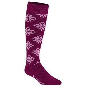 Ponožky Kari Traa Rose Sock Velikost ponožek: 40-41 / Barva: fialová