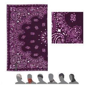 Multifunkční šátek Sensor Tube Ornament Barva: fialová