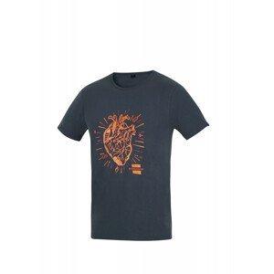 Pánské triko Direct Alpine Flash Velikost: M / Barva: černá/oranžová