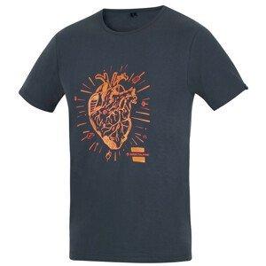 Pánské triko Direct Alpine Flash Velikost: XXL / Barva: černá/oranžová