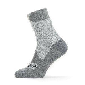 Nepromokavé ponožky SealSkinz WP All Weather Ankle Velikost ponožek: 43-46 / Barva: šedá