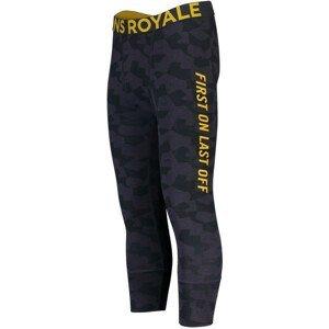Pánské funkční kalhoty Mons Royale Shaun-off 3/4 Legging Velikost: XL / Barva: šedá/žlutá