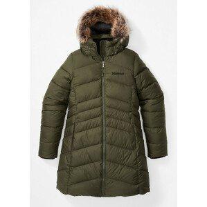 Dámská bunda Marmot Montreal Coat Velikost: L / Barva: tmavě zelená