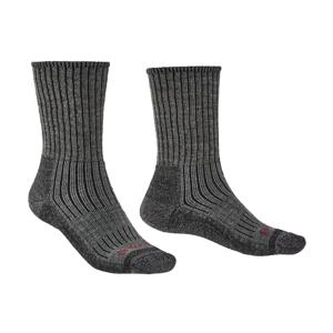 Pánské ponožky Bridgedale Hike MW MC Boot Velikost ponožek: 44-47 / Barva: šedá