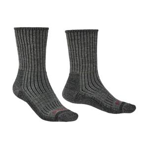 Pánské ponožky Bridgedale Hike MW MC Boot Velikost ponožek: 40-43 / Barva: šedá