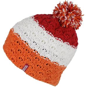 Dámská zimní čepice Nordblanc Wale Barva: bílá/oranžová