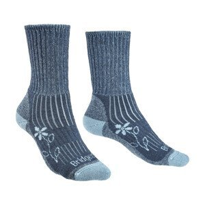 Dámské ponožky Bridgedale Hike MW MC Boot Women's Velikost ponožek: 41-43 / Barva: modrá