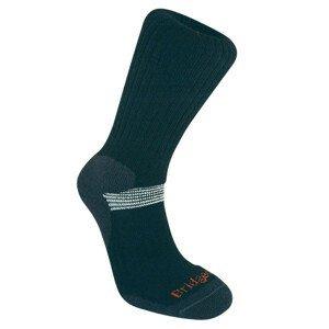 Pánské ponožky Bridgedale Ski Cross Country Velikost ponožek: 44-47 / Barva: černá