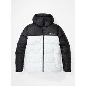 Dámská bunda Marmot Guides Down Hoody Velikost: M / Barva: bílá/černá