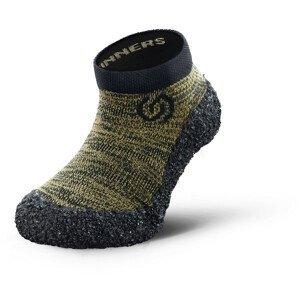 Dětské ponožkoboty Skinners Kids Line Velikost ponožek: 26-27 / Barva: zelená