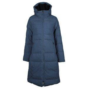 Dámský kabát Skhoop Long Down Jacket Velikost: M (38) / Barva: modrá