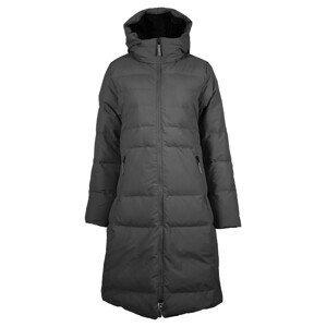 Dámský kabát Skhoop Long Down Jacket Velikost: S (36) / Barva: černá
