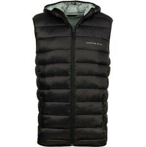 Pánská vesta Alpine Pro Nerel Velikost: L / Barva: černá