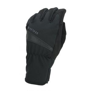 Nepromokavé rukavice Sealskinz WP All Weather Cycle Glove Velikost rukavic: M / Barva: černá