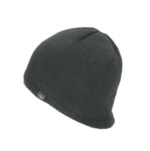 Nepromokavá čepice Sealskinz WP Cold Weather Beanie Velikost: XXL / Barva: černá