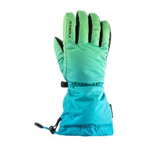 Dětské rukavice Relax Puzzy Velikost rukavic: 6-8 / Barva: zelená/modrá