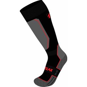 Lyžařské ponožky Relax Carve Velikost ponožek: 35-38 / Barva: černá