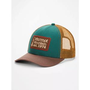 Kšiltovka Marmot Retro Trucker Hat Barva: hnědá/modrá