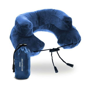 Nafukovací polštář Cabeau Air Evolution Barva: modrá