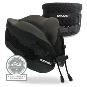Chladící podhlavník Cabeau Evolution Cool Barva: černá