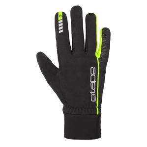 Rukavice Etape Peak WS+ Velikost rukavic: M / Barva: černá/žlutá