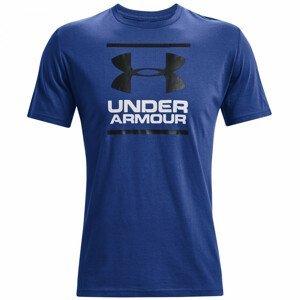 Pánské triko Under Armour GL Foundation SS T Velikost: M / Barva: modrá