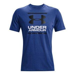 Pánské triko Under Armour GL Foundation SS T Velikost: XXL / Barva: modrá