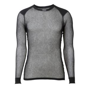 Brynje of Norway Pánské funkční triko Brynje Wool Thermo Shirt Velikost: L / Barva: černá