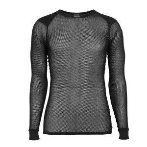 Funkční triko Brynje of Norway Super Thermo Shirt w/inlay Velikost: XXL / Barva: černá