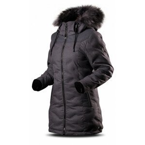 Dámský kabát Trimm Juliet Velikost: XXL / Barva: tmavě šedá