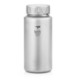 Láhev Keith Titanium Titanium Sport Bottle 1,2 l Barva: šedá