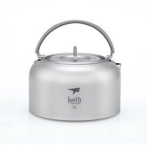 Konvice Keith Titanium Kettle 1 L Barva: šedá