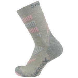 Ponožky Sherpax Kungur VL Velikost ponožek: 35-38 / Barva: šedá
