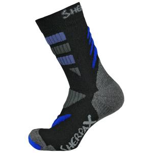 Ponožky Sherpax Kungur VL Velikost ponožek: 43-47 / Barva: černá