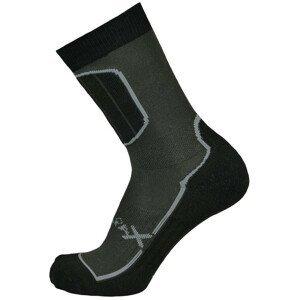 Ponožky Sherpax Pyramid Velikost ponožek: 35-38 / Barva: šedá