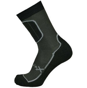 Ponožky Sherpax Pyramid Velikost ponožek: 43-47 / Barva: šedá