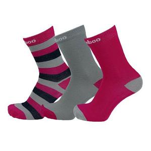 Dětské ponožky Sherpax Logan Velikost ponožek: 30-34 / Barva: růžová