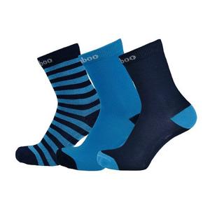 Dětské ponožky Sherpax Logan Velikost ponožek: 35-38 / Barva: modrá