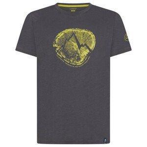 Pánské triko La Sportiva Cross Section T-Shirt M Velikost: L / Barva: šedá