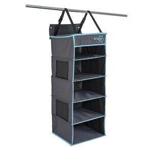 Organizér Bo-Camp 5 compartments 60x44x48 cm Barva: černá