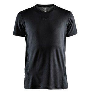 Pánské triko Craft ADV Essence SS Velikost: M / Barva: černá