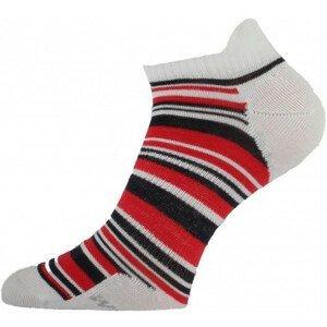 Ponožky Lasting WCS Velikost ponožek: 34-37 / Barva: červená/bílá