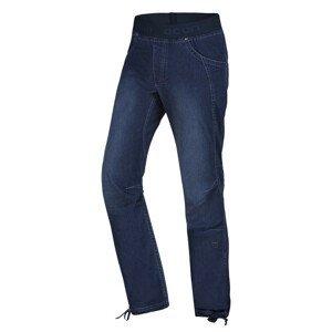 Pánské kalhoty Ocún Mania Jeans Velikost: XXL / Barva: modrá