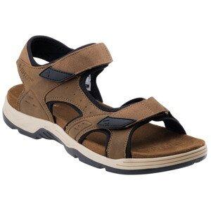 Pánské sandály Hi-Tec Lucibel Velikost bot (EU): 45 / Barva: hnědá