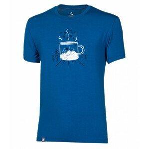 "Pánské triko Progress OS Pioneer ""MUG""24FM Velikost: XL / Barva: modrá"