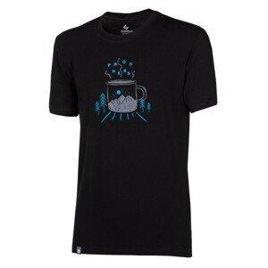 """Pánské triko Progress OS Pioneer """"MUG""""24FM Velikost: XXL / Barva: černá"""