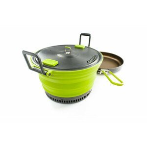 Hrnec GSI Outdoors Escape Set 3 L Pot + Fry Pan Barva: světle zelená
