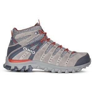 Pánské boty Aku Alterra Lite Mid GTX Velikost bot (EU): 46,5 / Barva: šedá/červená