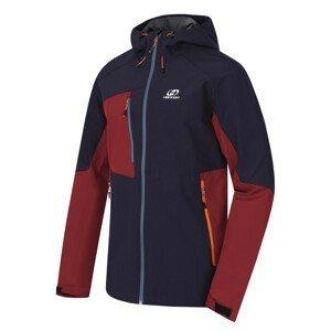Pánská bunda Hannah Selby Lite Velikost: S / Barva: šedo-červená