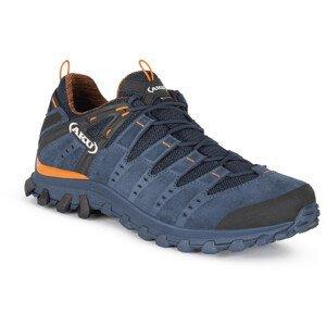 Pánské boty Aku Alterra Lite GTX Velikost bot (EU): 44 / Barva: modrá/oranžová